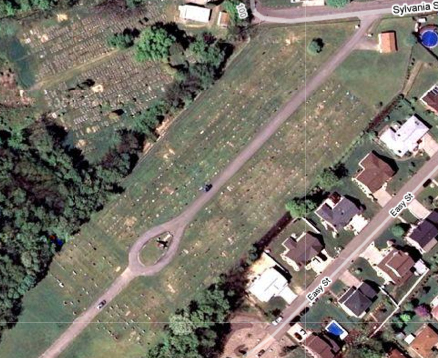 Satellite view of Homestead Hebrew Cemetery